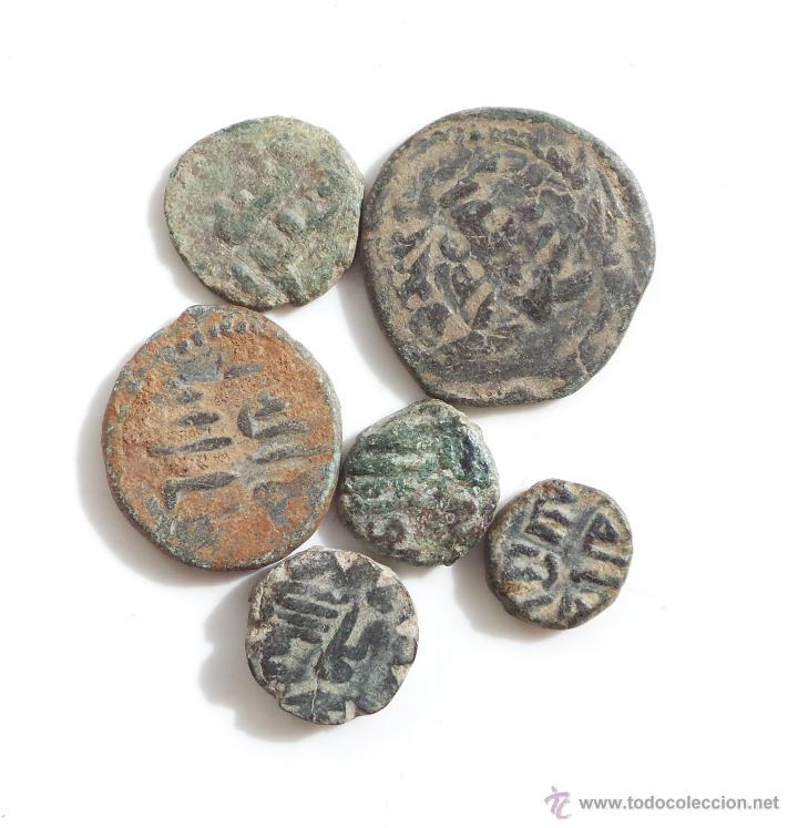 Monedas hispano árabes: LOTE DE FELUSES DEL PERIODO DE LOS GOBERNADORES - Foto 2 - 54610338
