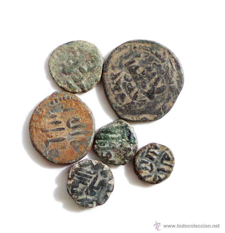 Monedas hispano árabes: LOTE DE FELUSES DEL PERIODO DE LOS GOBERNADORES - Foto 3 - 54610338