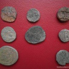 Monedas hispano árabes: 8 FELUSES HISPANO ARABES. Lote 56215122