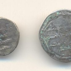 Monedas hispano árabes: DOS DIRHEMS A CLASIFICAR 20 Y 25 MM.. Lote 56568801