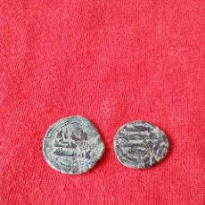 Monedas hispano árabes: LOTE DOS MONEDAS EMIRALES PARA IDENTIFICAR. Lote 65923821