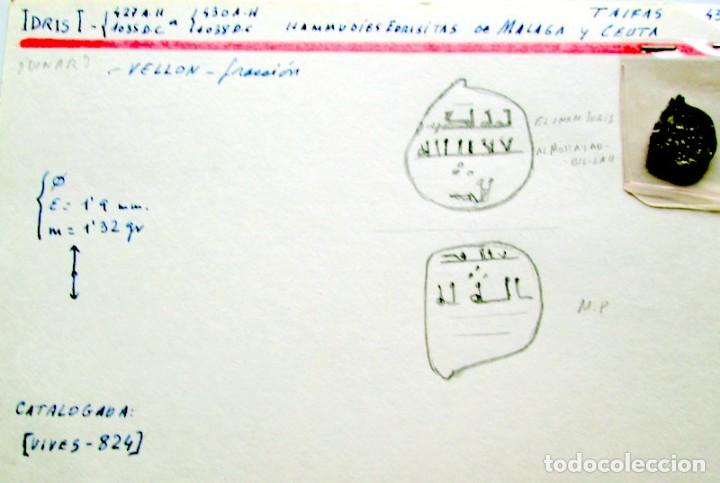 IDRIS I - FRACCION (Numismática - Hispania Antigua - Hispano Árabes)