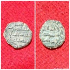 Monedas hispano árabes: MONEDA ARABE FELUS PARA IDENTIFICAR. Lote 74616358
