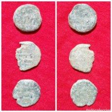 Monedas hispano árabes: LOTE 3 MONEDAS ÁRABES PARA IDENTIFICAR. Lote 75657389