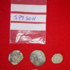 Monedas hispano árabes: BUEN LOTE DE 6 FELUS HISPANO ARABES - COBRE - CALIFATO DE CORDOBA - RAROS. Lote 99545591