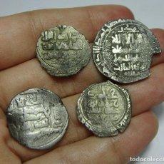 Monedas hispano árabes: LOTE DE MONEDAS ÁRABES. TODAS DE PLATA.. Lote 102823251