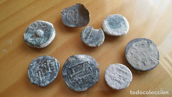 Monedas hispano árabes: LOTE DE FELUS HISPANO ARABES. - Foto 3 - 103744747