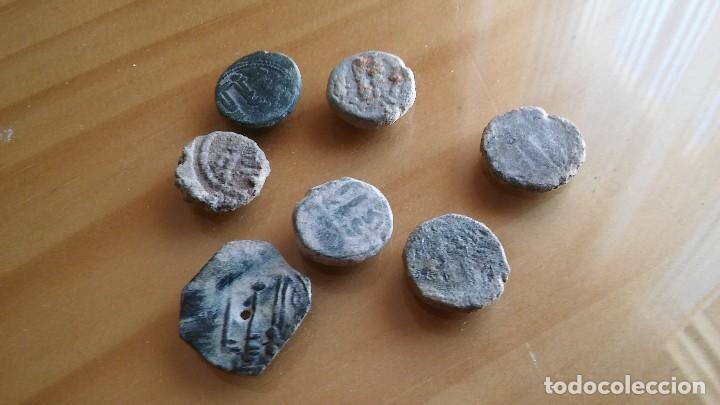 LOTE DE FELUS HISPANO ARABES. (Numismática - Hispania Antigua - Hispano Árabes)