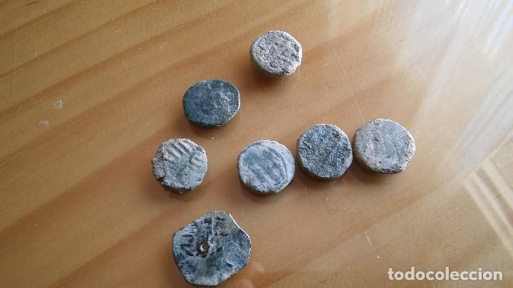 Monedas hispano árabes: LOTE DE FELUS HISPANO ARABES. - Foto 4 - 103744827