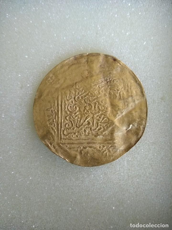 MONEDA DE ORO HISPANOMUSULMANA (Numismática - Hispania Antigua - Hispano Árabes)