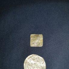 Monedas hispano árabes: MONEDAS HISPANO ÁRABES DOS BONITAS. Lote 126826336