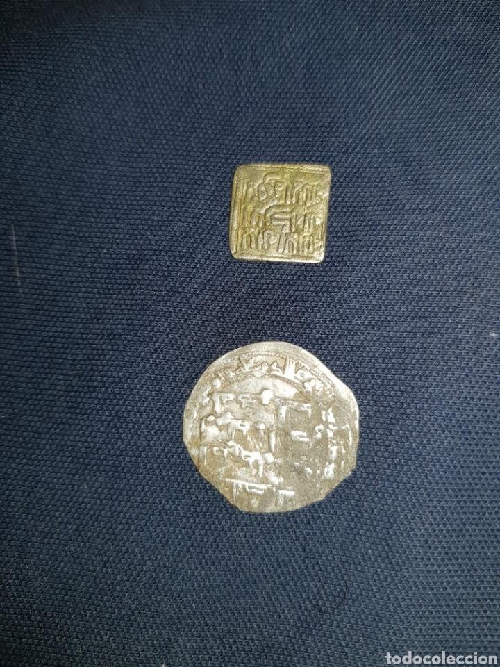 Monedas hispano árabes: Monedas hispano árabes dos bonitas - Foto 2 - 126826336