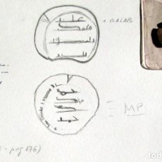 Monedas hispano árabes: FELUS AGLABITA. Lote 134501382