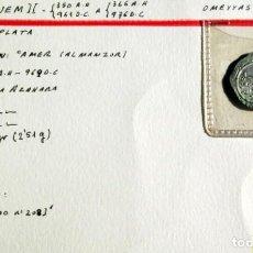 Monedas hispano árabes: AL HAQUEM II - DIRHEM- PLATA. Lote 134502478