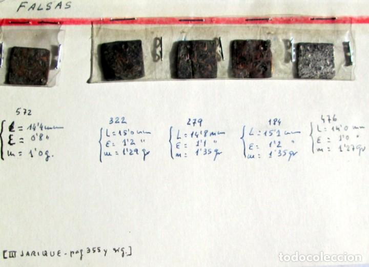 ALMOHADES - 5 DIRHEMS FALSOS DE EPOCA (Numismática - Hispania Antigua - Hispano Árabes)