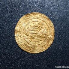 Monedas hispano árabes: DINAR DE ALI BEN YUSUF Y EL EMIR SIR, SIJILMASA, 525 H. Lote 135877718
