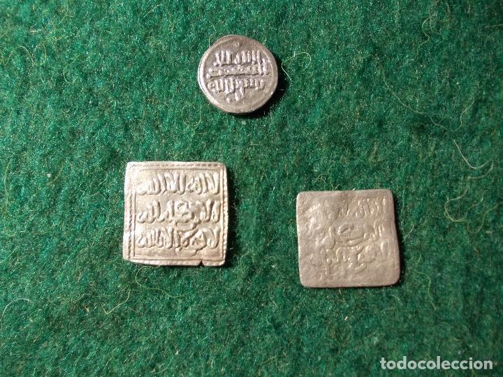 Monedas hispano árabes: Lote Almohade Hispano árabe - Foto 3 - 56818575