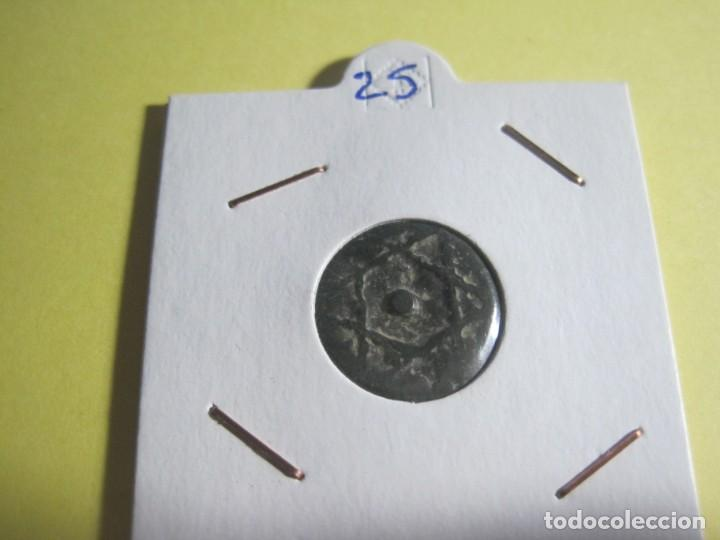 MONEDA ARABE DE BRONCE (Numismática - Hispania Antigua - Hispano Árabes)