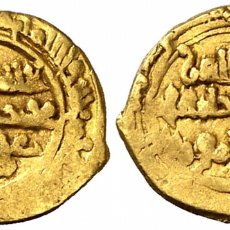 Monedas hispano árabes: ABU AL-HASAN ALI AL-ZAHIR LI IZAZ. FATIMIDAS ORO GOLD SE ENTREGA CON CERTIFICADO. Lote 148587974