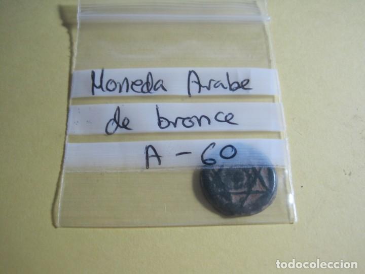Monedas hispano árabes: MONEDA ARABE DE BRONCE - Foto 3 - 158464870