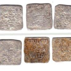 Monedas hispano árabes: HISPANO ARABE - LOTE 5 DIRHAM ALMOHADES. Lote 160808686