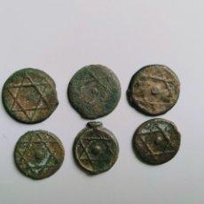 Monedas hispano árabes: LOTE DE MONEDAS MARRUECOS. Lote 166526806