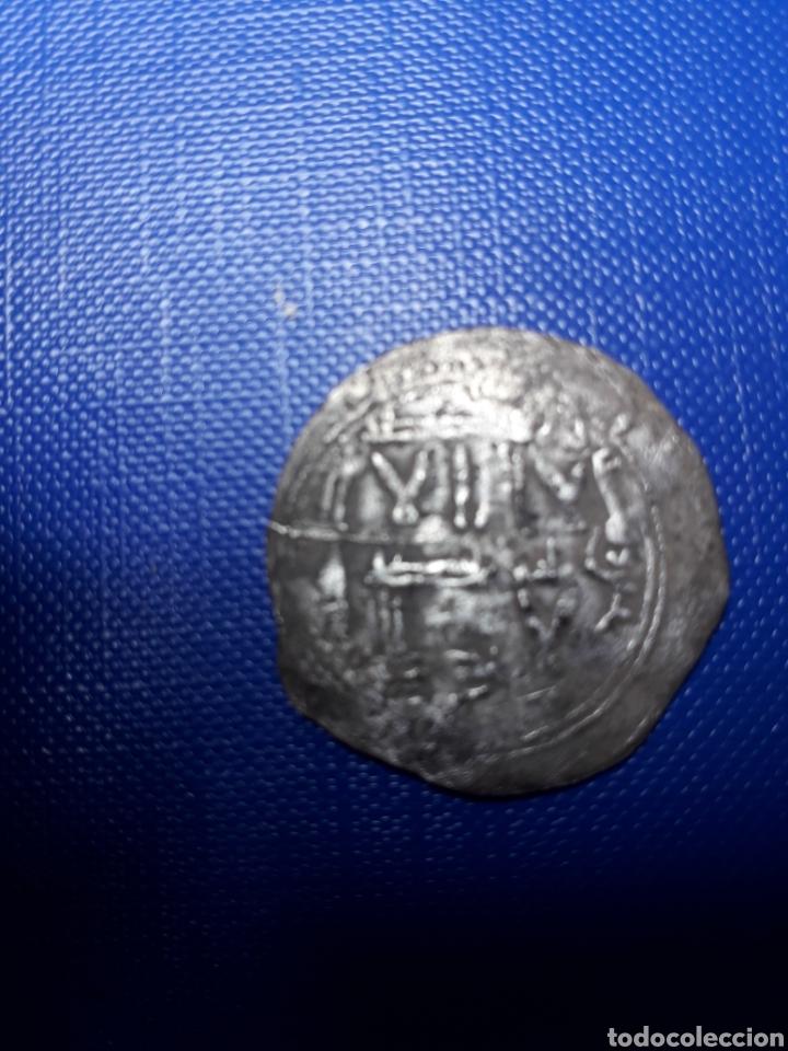 BONITA MONEDA DE PLATA HISPANO ÁRABE DHIRMAN (Numismática - Hispania Antigua - Hispano Árabes)