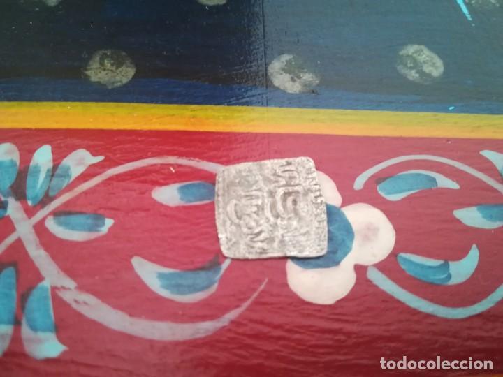 Monedas hispano árabes: MONEDA DIRHAM PLATA HISPANO ARABE ANDALUSI - Foto 2 - 169096352