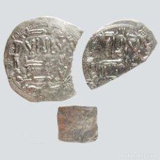 Monedas hispano árabes: MONEDAS HISPANO ÁRABES. 2 DIRHAMS EMIRALES Y UNA ALMOHADE. 34-L. Lote 172900920