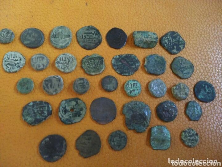 LOTE 33 FELUS HISPANO ÁRABES A LIMPIAR Y CATALOGAR, DE EPOCA GOBERNADORES Y OTRAS... (Numismática - Hispania Antigua - Hispano Árabes)