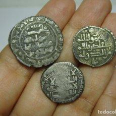 Monedas hispano árabes: LOTE DE MONEDAS ÁRABES DE PLATA. POR IDENTIFICAR.. Lote 177821548
