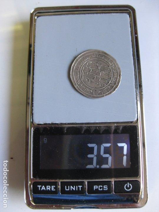 Monedas hispano árabes: DIRHAM DE PLATA A CLASIFICAR - MUY BONITO - Foto 4 - 182197565