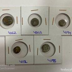 Monedas hispano árabes: LOTE DE 5 MONEDAS FELUS A IDENTIFICAR Y EXPERTIZAR. HISPANO ARABES. VER FOTOS.. Lote 182368671