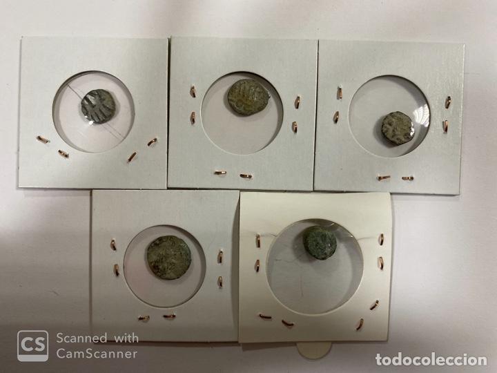 Monedas hispano árabes: LOTE DE 5 MONEDAS FELUS A IDENTIFICAR Y EXPERTIZAR. HISPANO ARABES. VER FOTOS. - Foto 12 - 182368825