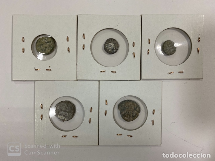 Monedas hispano árabes: LOTE DE 5 MONEDAS FELUS A IDENTIFICAR Y EXPERTIZAR. HISPANO ARABES. VER FOTOS. - Foto 12 - 182369038