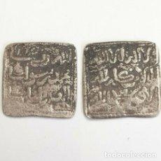 Monedas hispano árabes: MEDIO DIRHAM HISPANO ARABE PLATA. . Lote 182466193
