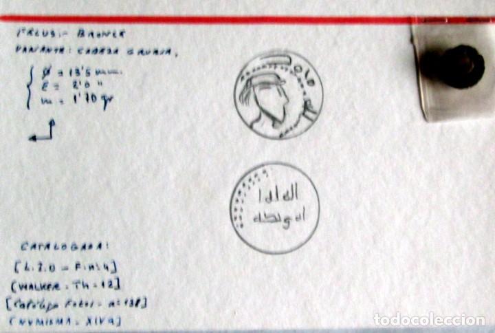 Monedas hispano árabes: FELUS CON CARA HUMANA 2 VARIANTES - Foto 6 - 187481517