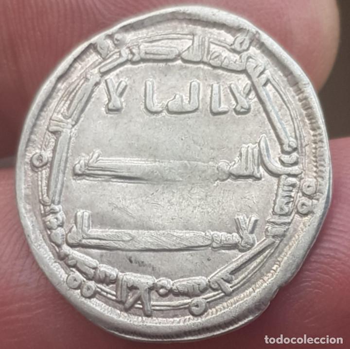 MONEDA ABBASID CALIFATO , HARUN AL-RASHID, 1 DIRHAM AH 789-803 AL-R PLATA 3174 (Numismática - Hispania Antigua - Hispano Árabes)