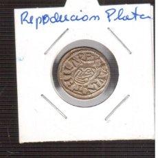 Monedas hispano árabes: REPRODUCCCION DE MONEDA LA QUE VES ES PLATA . Lote 190162905