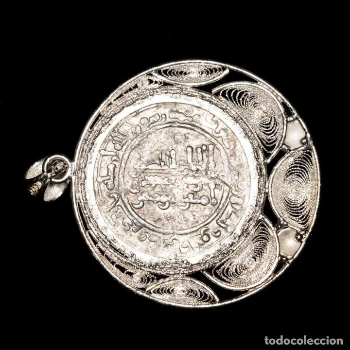 Monedas hispano árabes: Califato, Abd al-Rahman III, colgante. Medina Azahara, 343 H - Foto 2 - 195093515
