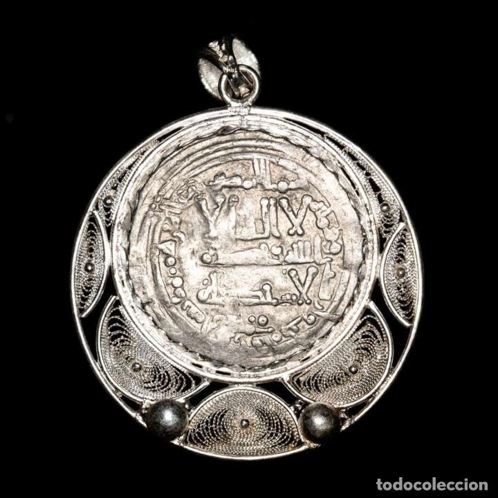 CALIFATO, ABD AL-RAHMAN III, COLGANTE. MEDINA AZAHARA, 343 H (Numismática - Hispania Antigua - Hispano Árabes)