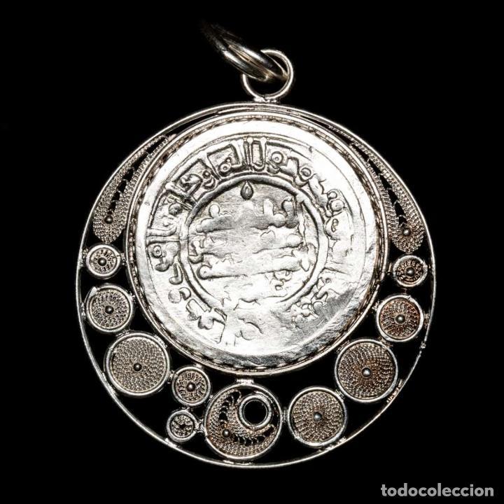 CALIFATO DE CÓRDOBA, HISAM II, COLGANTE. AL-ÁNDALUS, 366 H/977 D.C (Numismática - Hispania Antigua - Hispano Árabes)