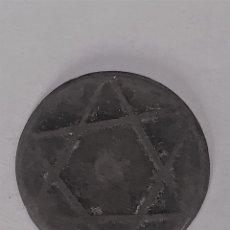 Monedas hispano árabes: FELUS O FALUS CON ESTRELLA DE DAVID. Lote 202005470