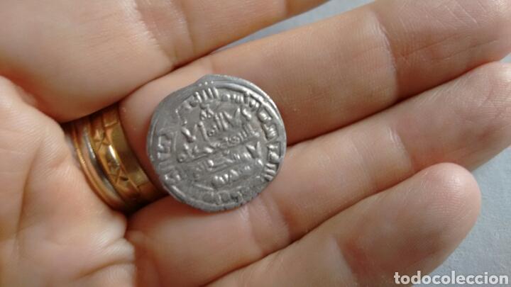Monedas hispano árabes: DIRHEM CALIFATO CORDOBA Ar 3,81g 400 H SULEIMAN Madinat Al-Zahra escasa MBC+ DIRHAM CON CERTIFICADO - Foto 4 - 203047203