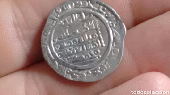 Monedas hispano árabes: DIRHEM CALIFATO CORDOBA Ar 3,81g 400 H SULEIMAN Madinat Al-Zahra escasa MBC+ DIRHAM CON CERTIFICADO - Foto 6 - 203047203