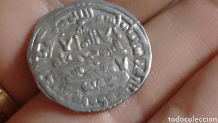 Monedas hispano árabes: DIRHEM CALIFATO CORDOBA Ar 3,81g 400 H SULEIMAN Madinat Al-Zahra escasa MBC+ DIRHAM CON CERTIFICADO - Foto 8 - 203047203