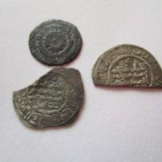 Monedas hispano árabes: LOTE DE 3 MONEDAS ARABES DE PLATA. Lote 205353408