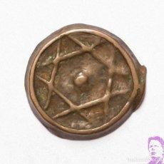 Monedas hispano árabes: MONEDA MARRUECOS FELUS CON ESTRELLA DE DAVID, LA FECHA PARECE 1271 . REF.2504. Lote 206555675