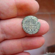 Monedas hispano árabes: PONDERAL MORABETINO DE ALFONSO VIII.MUY RARO. Lote 208485747