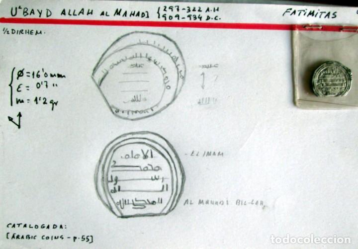 UBAID ALLHA AL MHADI- 1/2 D. -FATIMITA - PALTA (Numismática - Hispania Antigua - Hispano Árabes)